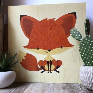 Baby Fox Wall Art Picture